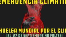 'Fridays for future' se moviliza del 20 al 27 de septiembre por la emergencia climática