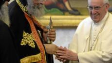 Papa Francesco ricorda i martiri copti vittime dell'Isis: 'Non hanno mai venduto la fede'