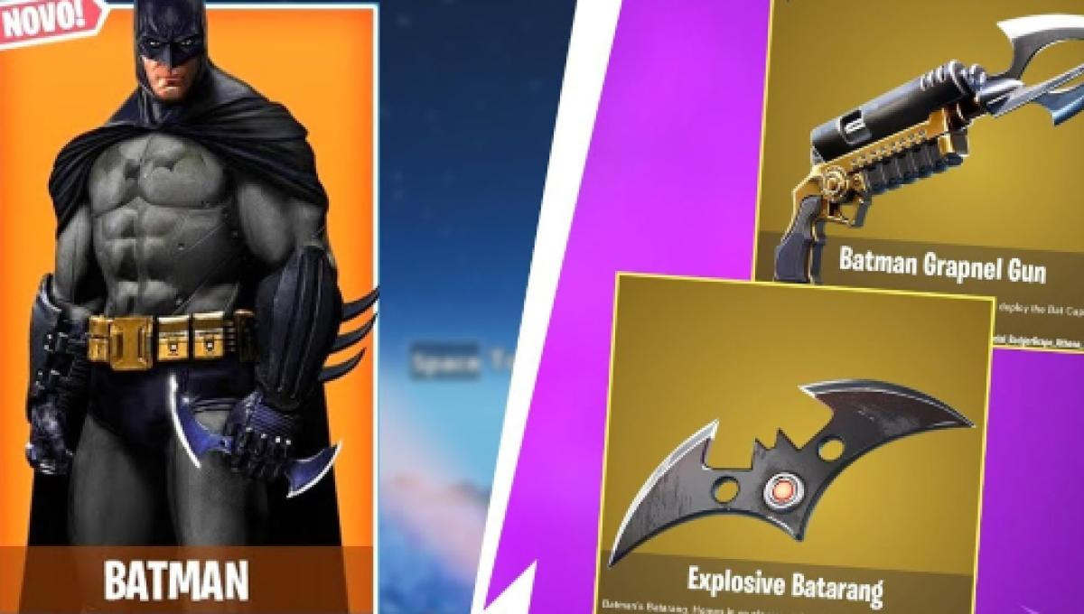 Fortnite Cape fortnite' x batman event leak: gotham city and batman skins