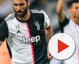 Juventus, Higuain vuole sempre vincere: prende a calci cartellone per aver perso a torello