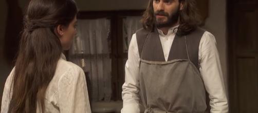 Anticipazioni Il Segreto 22-28 settembre: Alvaro ruba l'eredità di Elsa e fugge