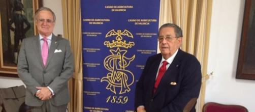 El presidente y el vocal de Cultura de la RSVAD