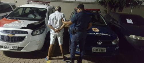 Homem já tem duas passagens pela polícia. (Divulgação/Guarda Municipal)