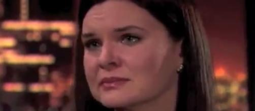 Katie e faces a deadly health crisis. (Image via 'The Bold and the Beautiful'/YouTube)