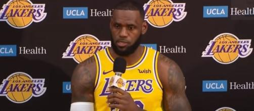 Lebron James a big man in Los Angeles Lakers - Image credit - House of Highlights / YouTube