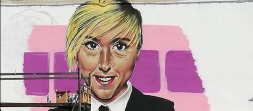 Nadia Toffa, un murale per lei a Taranto