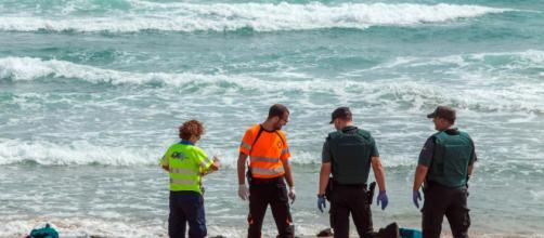 Se estrella otra avioneta del ejército en el Mar Menor