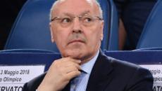 Marotta: 'Conte è un vincente, con la Juve tre scudetti con potenzialità ridotte'