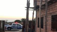 Policiais militares de Goianésia se unem para construir casa de funcionária do quartel