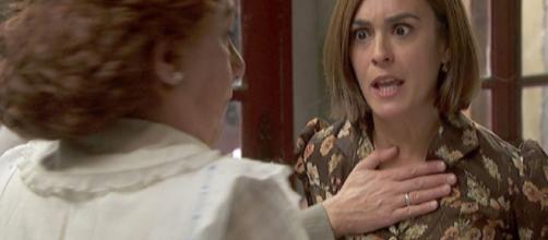 Il Segreto anticipazioni: Dolores disprezza la nipote Belen per errore