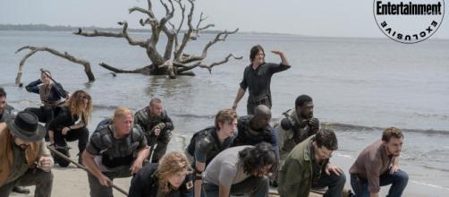Menés par Daryl, les survivants s'entraînent sur les plages d'Oceanside - ew.com