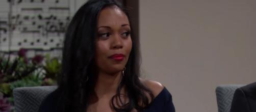 Mishael Morgan returns to Y&R Thursday.(Image Source:CBS-YouTube.)