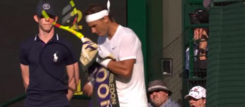 Rafael Nadal will be playing with Federer on Team Europe. [Image Source: Wimbledon/YouTube]