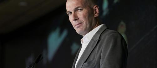 Zinédine Zidane, l'entraîneur du Real Madrid - lefigaro.fr