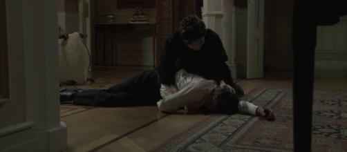 Blanca accoltella Samuel nelle prossime puntate di Una Vita
