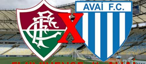 Fluminense busca vitória contra o Avaí para tentar sair do z4. (Fotomontagem)