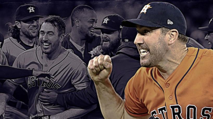MLB: Verlander logra tercer no hitter de su carrera, en victoria de los Astros en Toronto