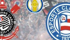 Corinthians x Bahia: partida ao vivo no sábado (21), às 19h, no PFC