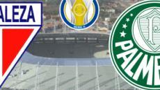 Fortaleza x Palmeiras: transmissão ao vivo na Globo, neste domingo (22), às 17h