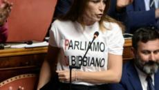 Carola Rackete a Piazzapulita, Borgonzoni denuncia: 'Formigli ha tagliato la mia presenza'