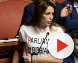La senatrice della Lega Lucia Borgonzoni