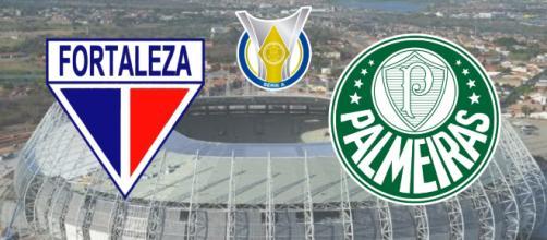 Fortaleza x Palmeiras terá transmissão ao vivo em vários canais. (Fotomontagem)