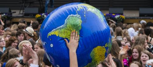 Miles de jóvenes se manifestaron en una jornada mundial contra el cambio climático.
