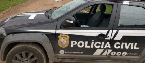 Polícia deteve dois suspeitos. (Reprodução/Polícia Civil)