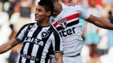 Botafogo x São Paulo: prováveis escalações, onde assistir e arbitragem