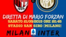 Milano si tinge di nerazzurro il derby va all'Inter