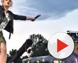 Emma Marrone durante un concerto
