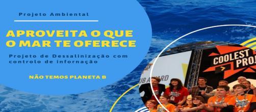 Cartaz do projeto para aproveitar os recursos naturais