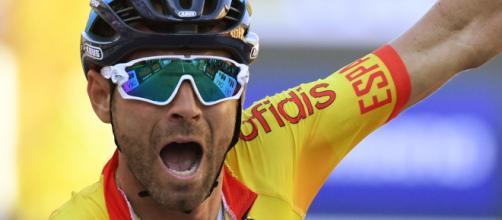 Il Campione del Mondo in carica Alejandro Valverde
