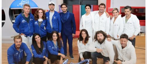 Amici Celebrities: le squadre Bianca e Blu