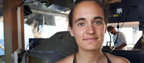 Carola Rackete a bordo della Sea Watch