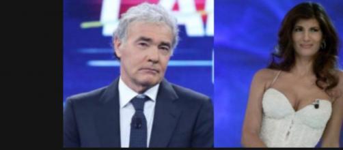 Giletti ospita Pamela Prati per la prima puntata di Non è l'arena