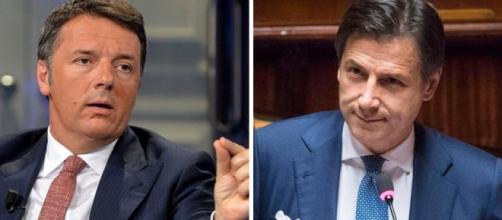 Matteo Renzi attacca Giuseppe Conte