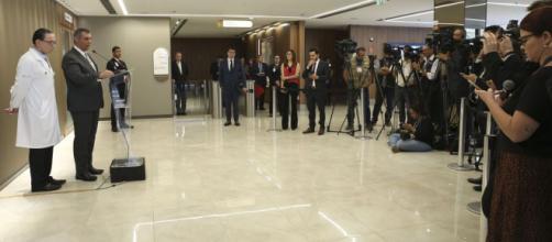 O porta-voz da Presidência, Rêgo Barros, confirmou viagem de Bolsonaro. ( Antonio Cruz/Agência Brasil)