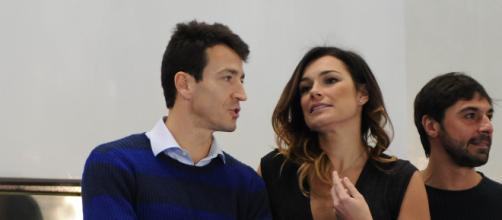 Seredova con il suo attuale compagno, Alessandro Nasi
