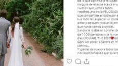 10 imágenes de la romántica boda de Feliciano López y Sandra Gago