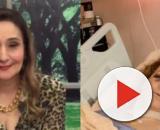 Mãe de Sonia Abrão sofre acidente, apresentadora posta foto chocante e faz alerta. (Reprodução/Instagram