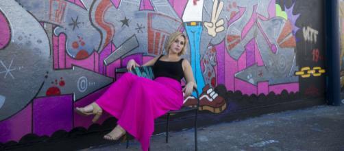 Australian Singer Songwriter Jess Spahr in Marrickville, Australia