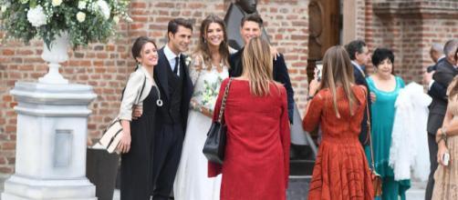 Cristina Chiabotto ha detto sì: a Venaria reale le nozze con Marco Roscio.