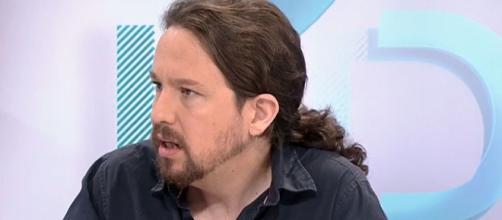 Iglesias, este lunes en 'Los desayunos'. / RTVE.es