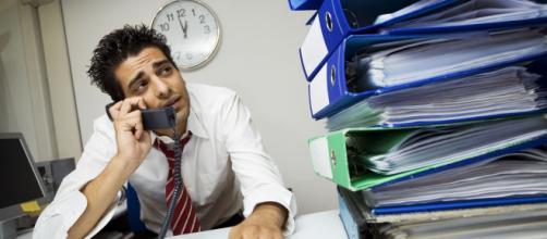 Las extensas etapas de intenso trabajo provocan estrés. - org.hn