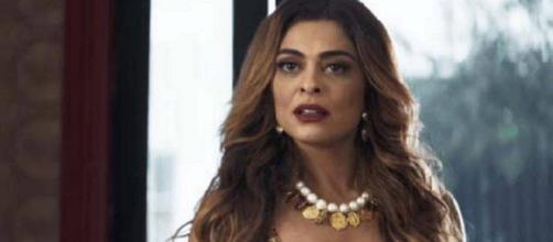 Maria da Paz descobre crimes de Josiane, em 'A Dona do Pedaço'. (Reprodução/TV Globo)