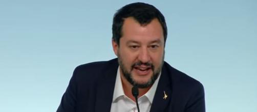Matteo Salvini in tribunale a Lecco per la querela a don Giorgio De Capitani.