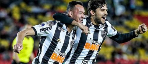 Ricardo Oliveira deve jogar. (Reprodução/Instagram/@atletico)