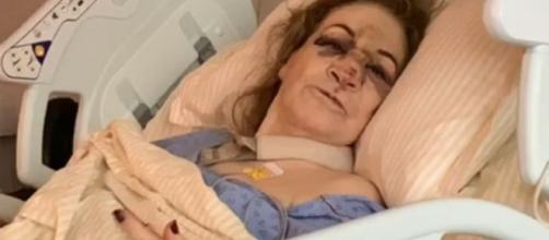 Sônia Abrão publicou imagem da mãe e fez alerta. (Arquivo Blasting News)