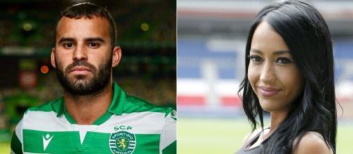 Jesé Rodríguez y Aurah Ruiz. / vivafutbol.es